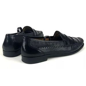 Mezlan Shoes - Mezlan Hand-Sewn Leather Loafers